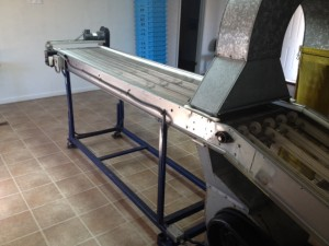 Blower Cleaner-Inspection Table