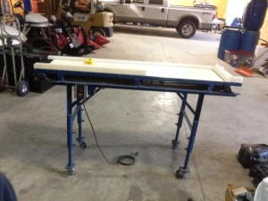 Berry Inspection Table