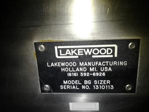 Lakewood BG Sizer