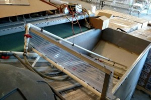 Wet Line Chlorine Bath Tank