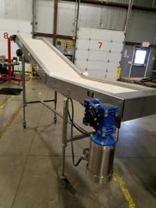 Lakewood Z-Belt conveyor